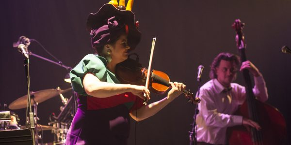 Reine au violon